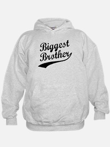 Biggest Brother (Black Text) Hoodie