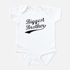 Biggest Brother (Black Text) Infant Bodysuit