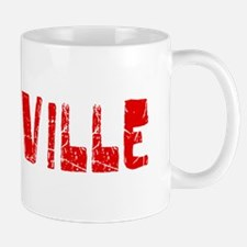 Vacaville Faded (Red) Mug