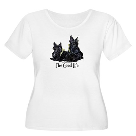 Scottish Terrier Good Life Do Women's Plus Size Sc