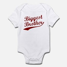 Biggest Brother (Red Text) Infant Bodysuit