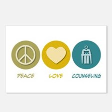 Peace Love Counseling Postcards (Package of 8)