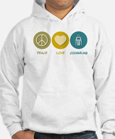 Peace Love Counseling Jumper Hoody