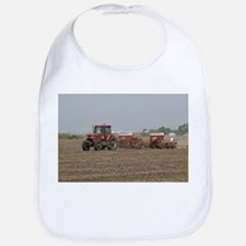 Tractor, Baby Bib