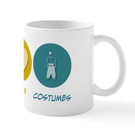 Peace Love Costumes Mug