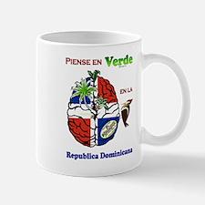 Piensa en Verde en Republica Dominicana Mug