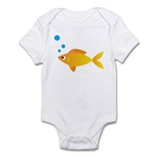 Gold Fish Infant Bodysuit