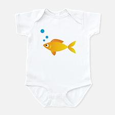 Gold Fish Infant Bodysuit