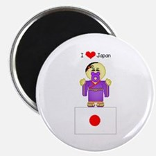 I Love Japan Magnet