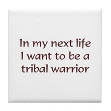 NL Tribal Warrior Tile Coaster