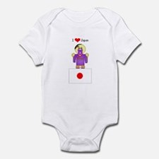 I Love Japan Infant Creeper