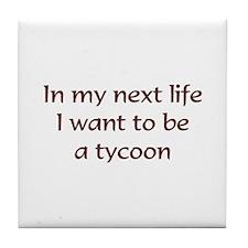 NL Tycoon Tile Coaster