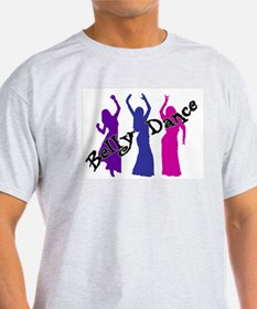 Belly Dance Trio Ash Grey T-Shirt