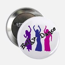 Belly Dance Trio Button