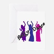 Belly Dance Trio Greeting Cards (Pk of 10)