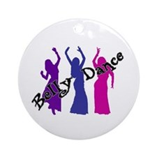 Belly Dance Trio Keepsake (Round)