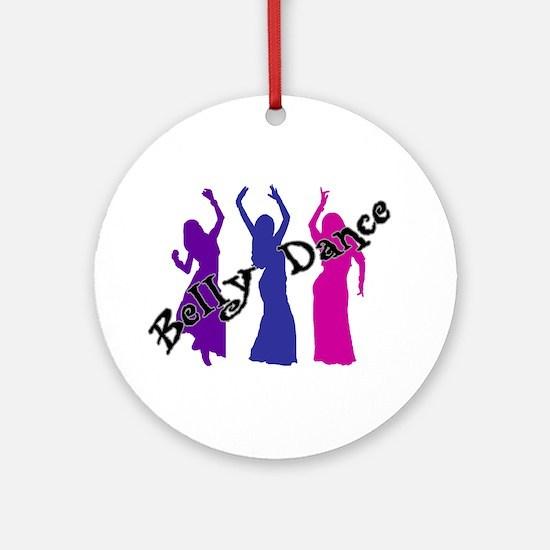 Belly Dance Trio Keepsake (Round)