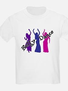 Belly Dance Trio Kids T-Shirt