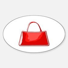 Cute Handbag Sticker (Oval)