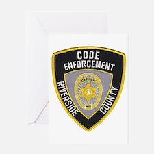 Rivco Code Enforcement Greeting Card