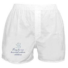 Pray children (hand) Boxer Shorts