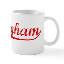 Vintage Nottingham (Red) Small Mug