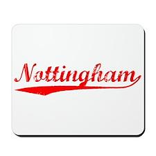 Vintage Nottingham (Red) Mousepad