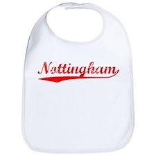 Vintage Nottingham (Red) Bib