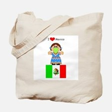 I Love Mexico Tote Bag