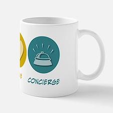 Peace Love Concierge Mug