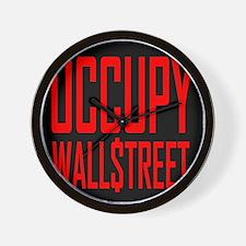 OCCUPY WALLSTREET - Wall Clock