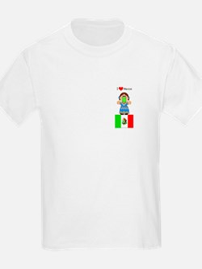 I Love Mexico Kids T-Shirt