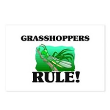 Grasshoppers Rule! Postcards (Package of 8)