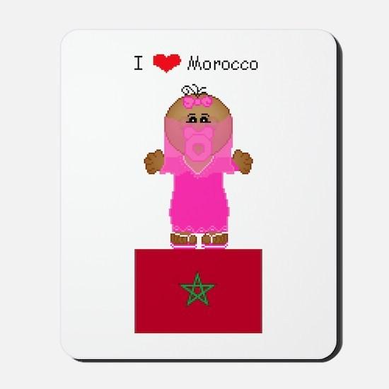 I Love Morocco Mousepad