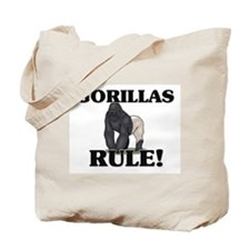 Gorillas Rule! Tote Bag
