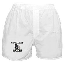 Gorillas Rule! Boxer Shorts