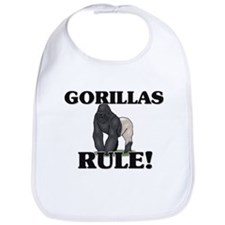 Gorillas Rule! Bib