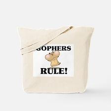 Gophers Rule! Tote Bag