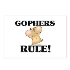 Gophers Rule! Postcards (Package of 8)