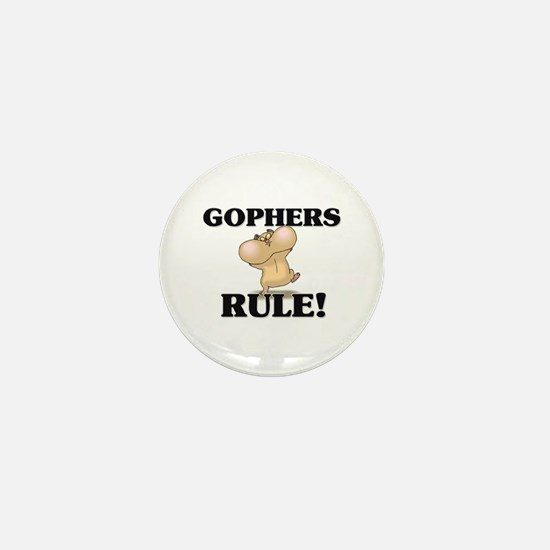 Gophers Rule! Mini Button