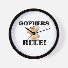 Gophers Rule! Wall Clock