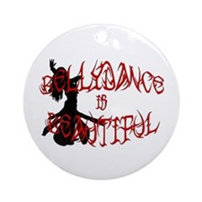 Bellydance is Beautiful Silho Keepsake (Round)