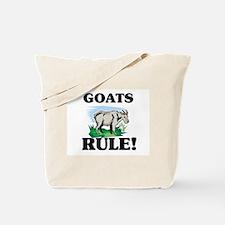 Goats Rule! Tote Bag