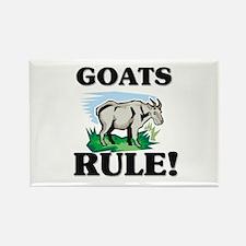 Goats Rule! Rectangle Magnet