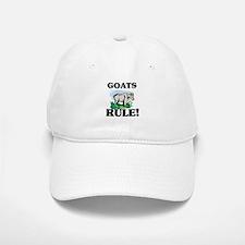 Goats Rule! Baseball Baseball Cap