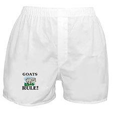 Goats Rule! Boxer Shorts