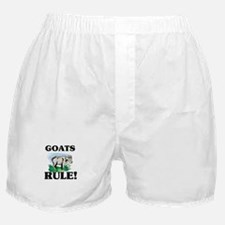 Goats Rule! Boxer Shorts