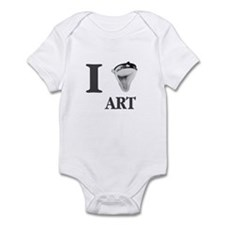 I Love Art-Duchamp Infant Bodysuit