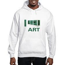 I Love Art-Hirst Hoodie