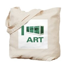 I Love Art-Hirst Tote Bag